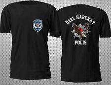 NEW TURKEY POLIS OZEL HAREKAT SPECIAL FORCE ANTI TERRORISM T SHIRT S-4XL