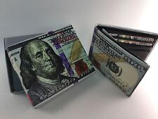 NEW BENJAMIN FRANKLIN $100 DOLLAR BILL WALLET