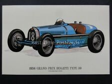 Vintage Car: 1934 Grand Prix Bugatti Type 59 - Pub by Prescott Pickup & Co