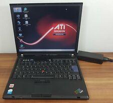 Business Notebook IBM Thinkpad T60 1,66GHz ATi Radeon X1300 Wlan Gig LAN Win7