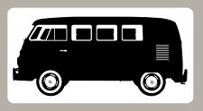 2 X VW CAMPER STICKERS SIGNS