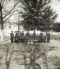 Union Army Band Instruments Troops Soldiers 1861 1865 8x10 US Civil War Photo