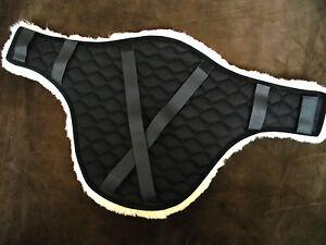 Stollenschutzgurt Topline Biel schwarz 125 cm 145 cm Daselfo Springgurt