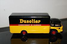 Camion miniature truck CORGI Renault Saviem Dusolier