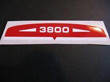 SOLEX AUTOCOLLANT DE filtre  a air 3800