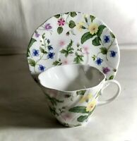 Rosina-Queens Country Meadow Cup And Saucer