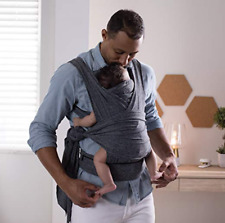 54dbd4fcf0c Boppy COMFYFIT Baby Carrier 0m 8-35lbs. Heathered Gray