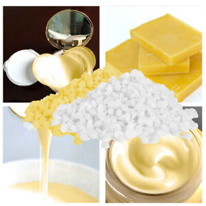 50g Beeswax Pellets Pure Natural Cosmetic Grade For Candle Soap Lipstick Mak_cd