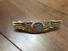 TURKISH EASY JET AIRLINES PILOT WING BADGE BREVET, TURKEY