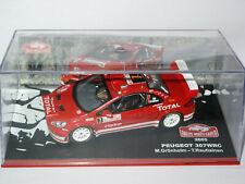 Peugeot 307 WRC Rallye Monte Carlo 2005 GRÖNHOLM IXO en boite idem NOREV SOLIDO