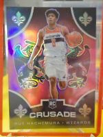 Rui Hachimura 2019-20 Panini Chronicles Pink Crusade Prizm RC #521 Wizards