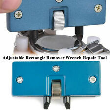 New Adjustable Rectangle Watch Back Case Cover Opener Remover Wrench Repair Tool
