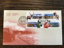 Stamps Canada 🇨🇦 1998 Scenic Hwy, block Fdc cat #1742a