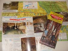Daniel Boone Park Onondaga Cave  Travel Brochure / Map Missouri