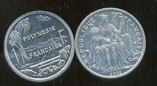 POLYNESIE francaise 1 franc 2008