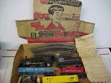 Vintage American Flyer Steam Locomotive Train Parts & As Is Original Box Pieces