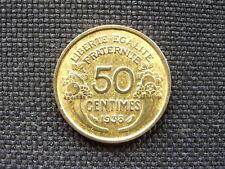 50 centimes Morlon bronze-alu 1938    TTB