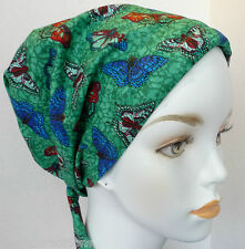 Colorful Butterfly Chemo Cancer Hat Alopecia Hair loss Scarves Turban Headwrap