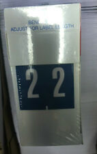 AMNM-02-L5 Ames AMNM Series Numeric Roll Labels - Number 2 - Blue