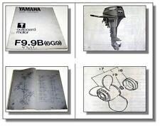 Yamaha F9.9B 6G9 Außenborder Ersatzteilliste Outboard motor Parts List