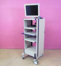 Itd Innovation Techinik Endoscopy Compact Cart Stand With Radiance 19 Monitor