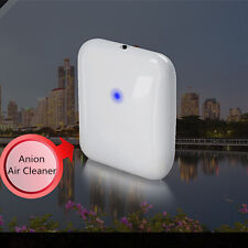 Portable Mini Car & Home Air Cleaner Purifier Filter Ionizer Freshener Air Anion