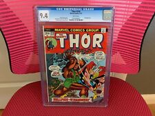The Mighty Thor #210 CGC 9.4 White Pages Ulik App