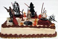 STAR WARS Jakku Planet Themed 20 Piece Birthday Cake Topper Set with Accessories