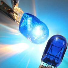 2x W21 5W T20 580 7443 Halogen Sidelight 5000K Xenon White HID Bulb Light 12V 5W
