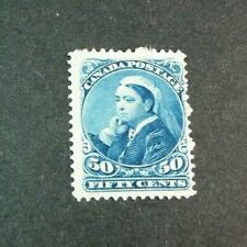 Canada Stamp Scott# 47 Victoria 1893 MH W19