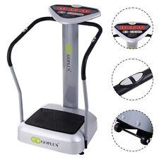 1000W Crazy Fit Whole Body Vibration Platform Exercise Machine Massage Massager