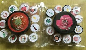 The Body Shop Bundle 50ml Body Butter and 11x 5ml samples!! Pamper Night gift 🎁