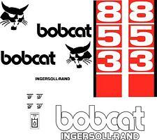 853 D Replacement decals decal kit / sticker set skid loader steer fits bobcat