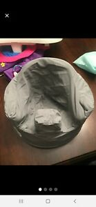 Genuine Bumbo Baby Seat Cover in Solid Gray!