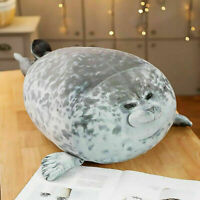 Chubby Blob Seal Plush Animal Toy Cute Pillow Pet Stuffed Doll Kids Toy Gift LZ7