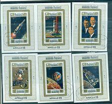 SPAZIO - SPACE  MANAMA (AJMAN DEPENDANCE) 1971 APOLLO 15 Miniature Sheets