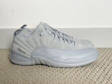 GRIMM NBC TV SAMPLE Jordan 12 Wolf Grey | US 10