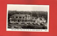 RPPC Hotel Bon Accueil (Bon-A-Kay) on the Hill Riviere Madeleine,Province.Quebec