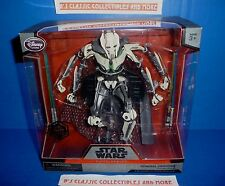 Disney Store Star Wars General Grievous Figure Elite Series Die Cast Figure New!