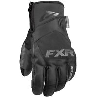 FXR Transfer Short Cuff Snowmobile Glove Black