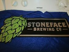 STONE FACE Brewing Company Metal Sign