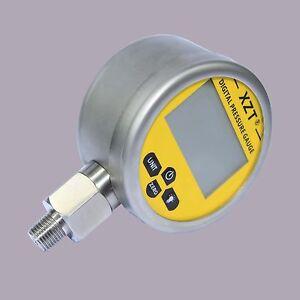 Digital Hydraulic Pressure Gauge-80mm-1000BAR/14500PSI(NPT1/4) -Base Entry