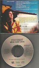 STEVE FORBERT Real Live Love 5TRX w/ 3 RARE LIVE TRX & ALTERNATE PROMO CD single