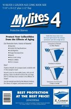 50 - Mylites4 - Silver & Golden Age - Heavy Duty - Mylar Comic Sleeves