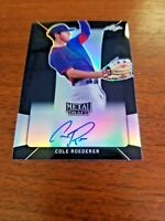 COLE ROEDERER 2018 LEAF METAL DRAFT CARD BA-CR1 CUBS (ROOKIE AUTOGRAPH) 13/15