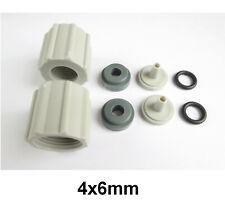 Anschluss SET (Paar) Schlauchanschluss 4x6mm ProMinent Ersatzteil f. Beta, Gamma