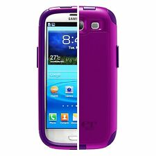 Authentic OtterBox Commuter Series Case for Galaxy S III (77-21388 Purple) OEM
