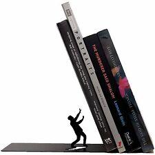 Artori Design Falling Bookend Book End Shelf Stopper Holder Support Read Comic