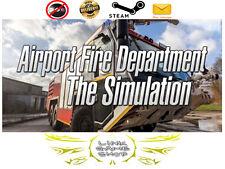 Airport Fire Department - The Simulation PC Digital STEAM KEY - Region Free