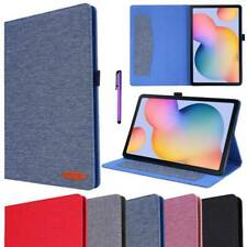 For Samsung Galaxy Tab S6 Lite 10.4 SM-P610 Tablet Slim Leather Folio Case Cover